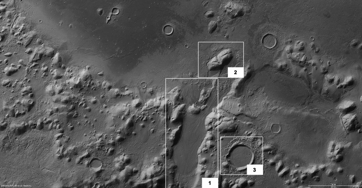 Liquid water was flowing on Mars 200,000 yearsago