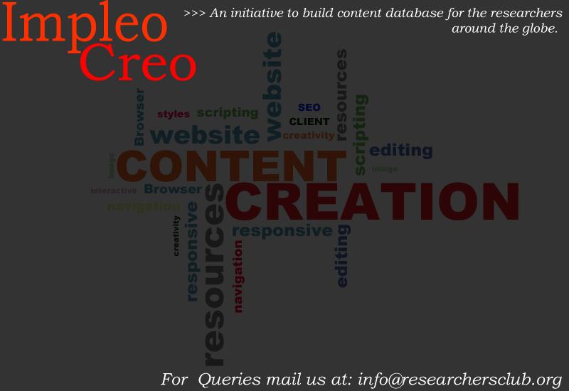 Impleo Creo : ContentCreation