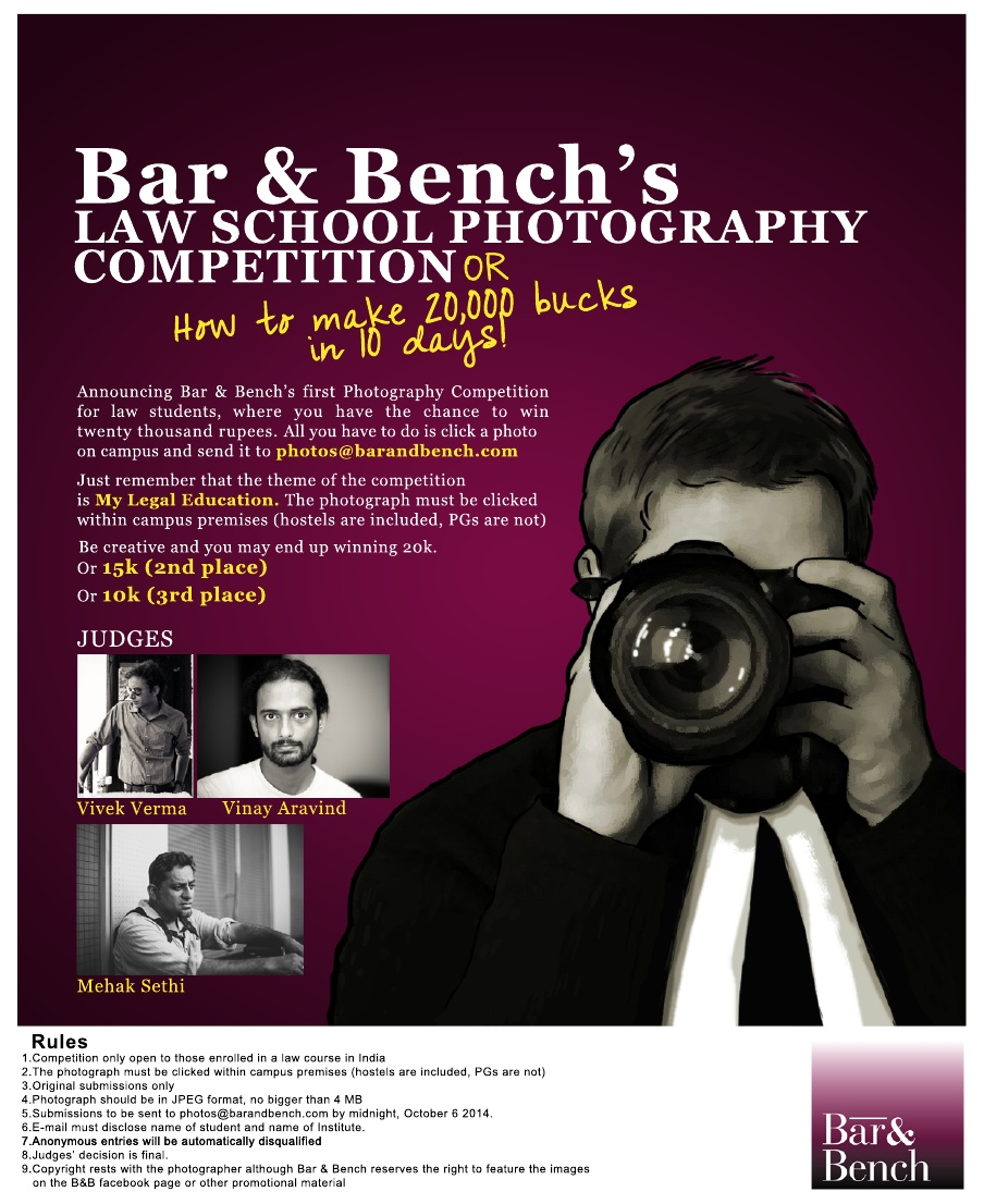 Bar & Bench's  Law School PhotographyCompetition