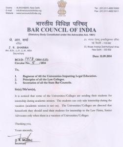 BCI Notice